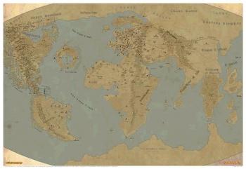 Karte Der Warhammerwelt Beilage Warhammer Age Of Sigmar